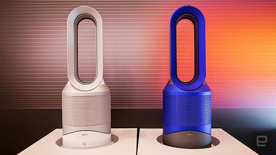 一台就優雅搞定!Dyson Pure Hot+Cool 空氣清淨涼暖氣流倍增器 (HP01) 開箱分享