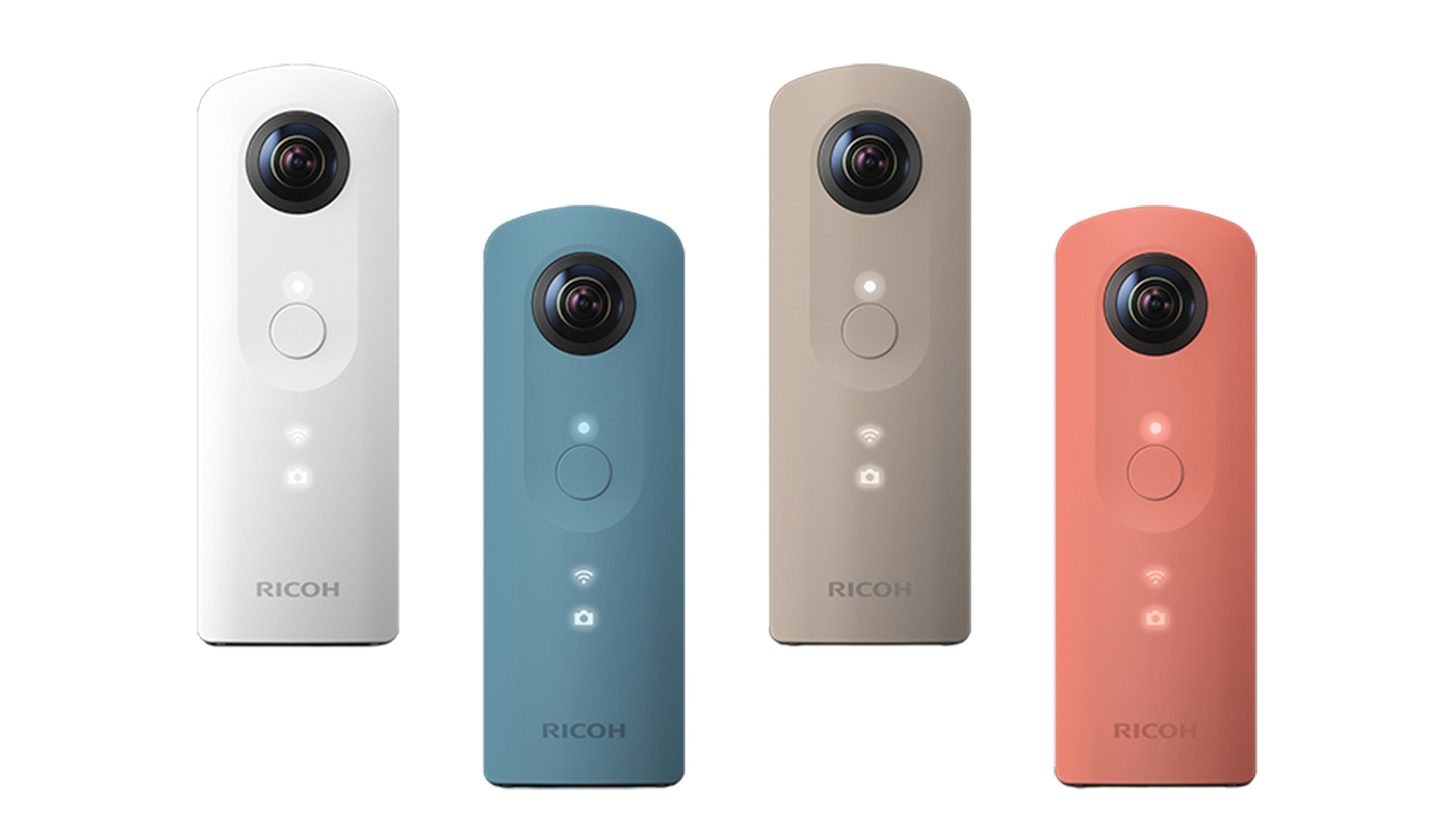 Ricoh 360 度相機降價推新款,Theta SC 登場