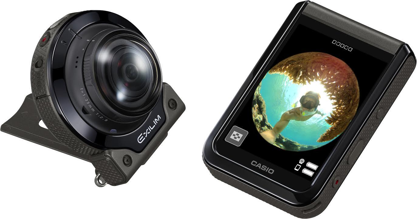 卡西歐硬派創意相機搭 4K 半天周鏡頭再進化,卡西歐在台推出 EX-FR200