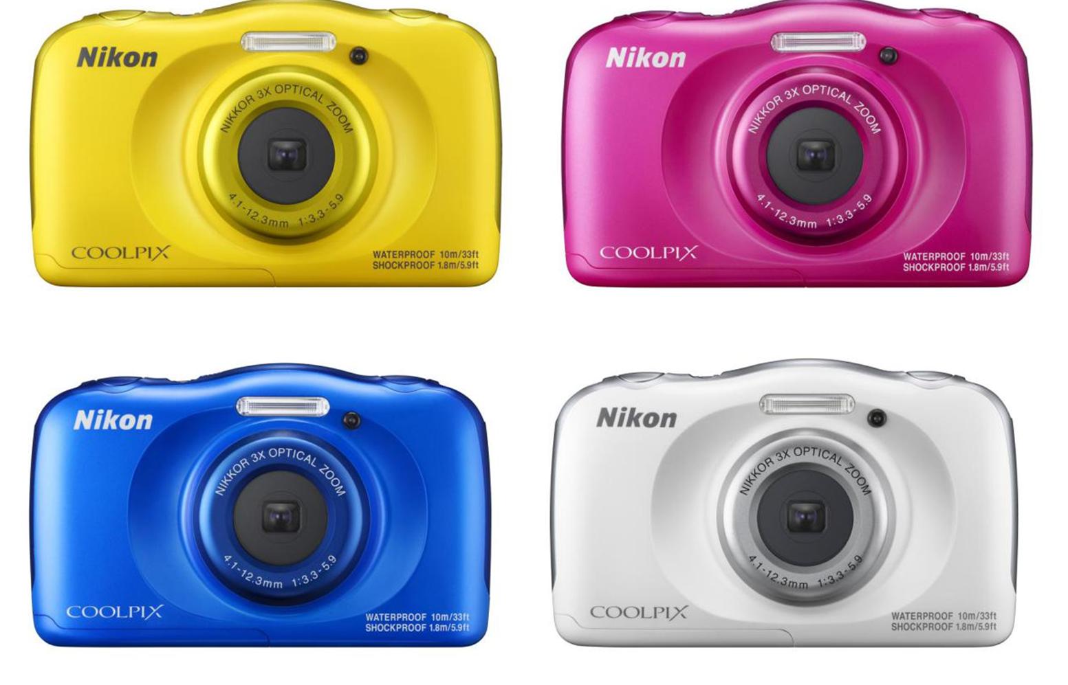 全球首款支援SnapBridge藍牙上傳照片的防水相機 Nikon Coolpix W100