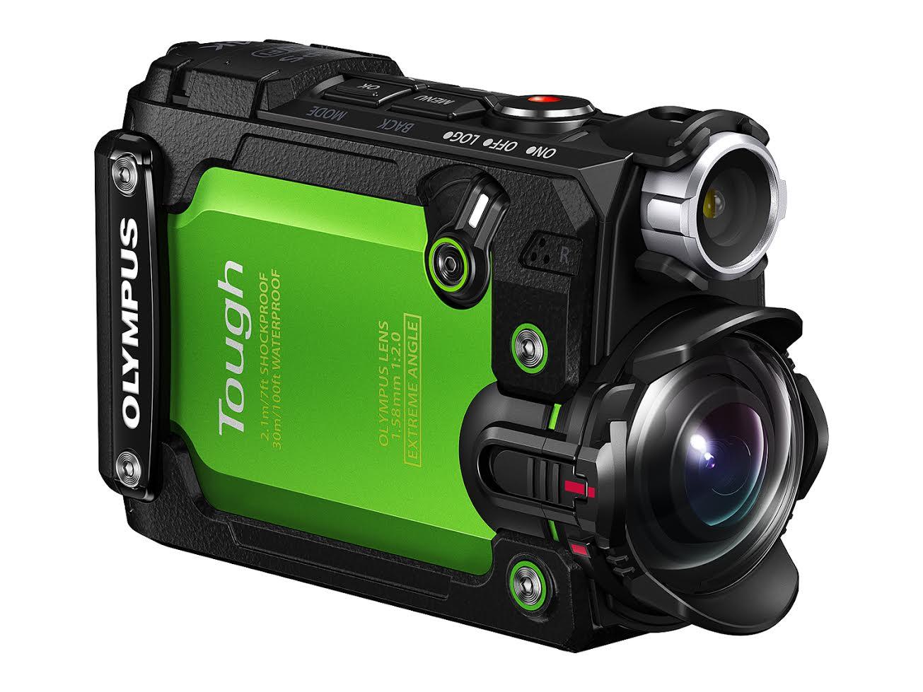 Olympus 首款運動相機 Stylus TG-Tracker 登場,主打運動與潛水的硬派風