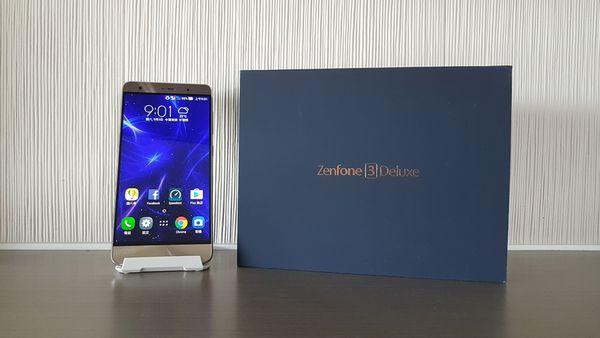 [開箱]  ASUS ZenFone3 Deluxe