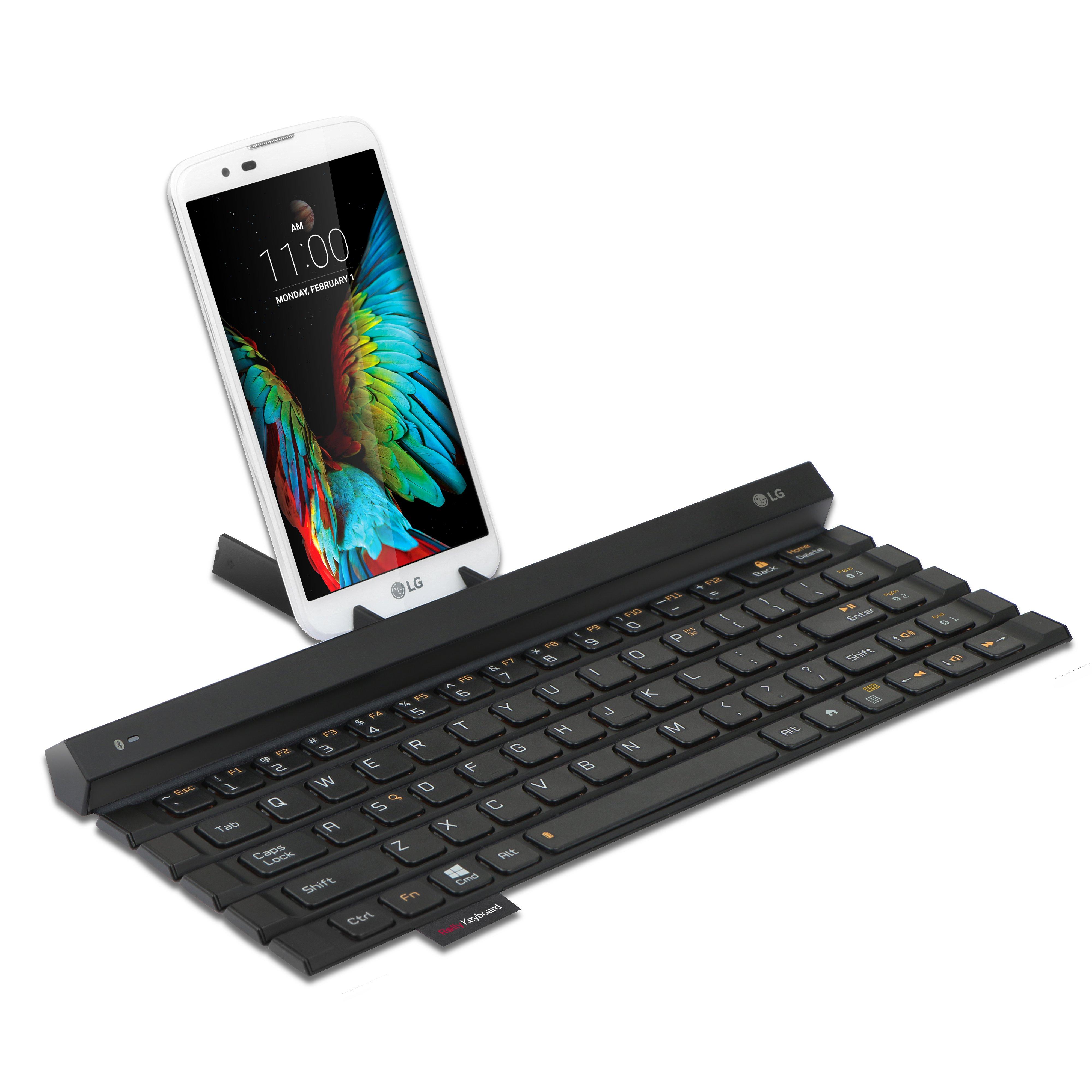 LG 卷軸式藍牙鍵盤在台推出,輕鬆收納並可跨裝置使用