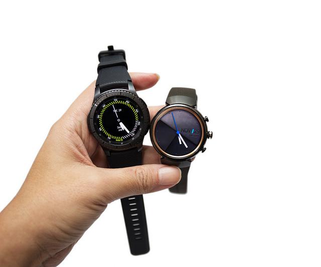 最美最強 PK!ZenWatch 3 與 Gear S3 (frontier) 兩隻最新智慧圓錶美圖對比 (附比較表整理)
