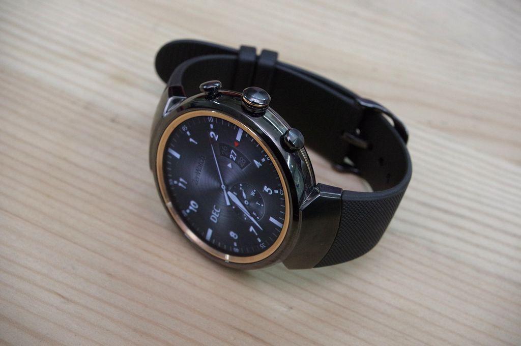 越顯高級錶風範,採用圓型顯示器的 ZenWatch 3 動手玩