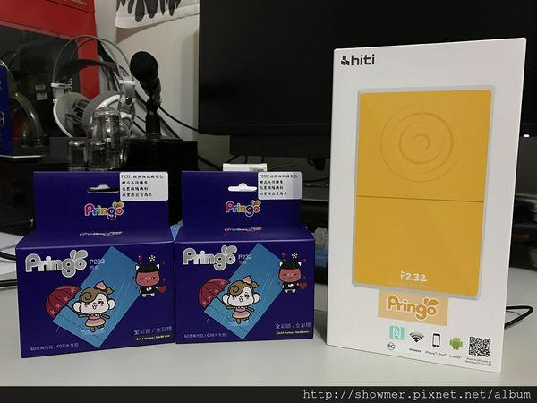 誠研 Pringo P232 熱昇華列印隨身印相機