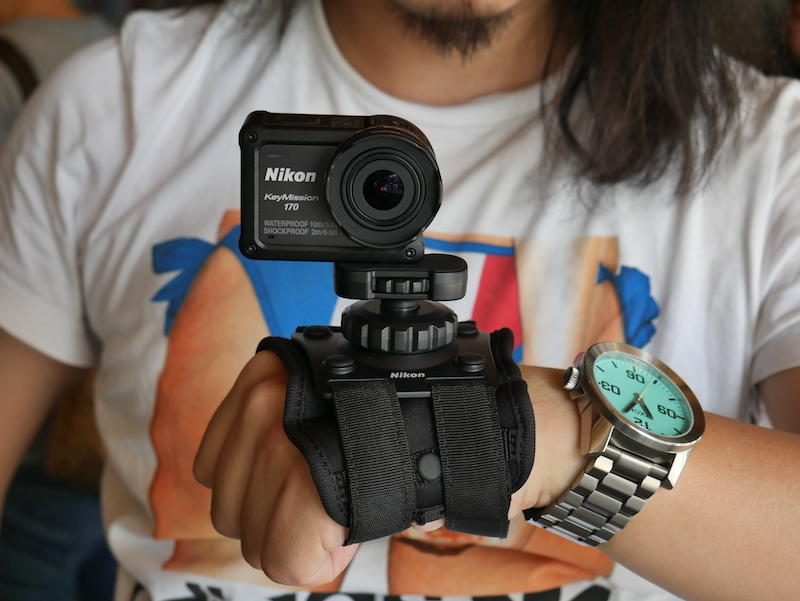 4K 規格、裸機防水防塵運動攝影機新星 Nikon KeyMission 170 實測