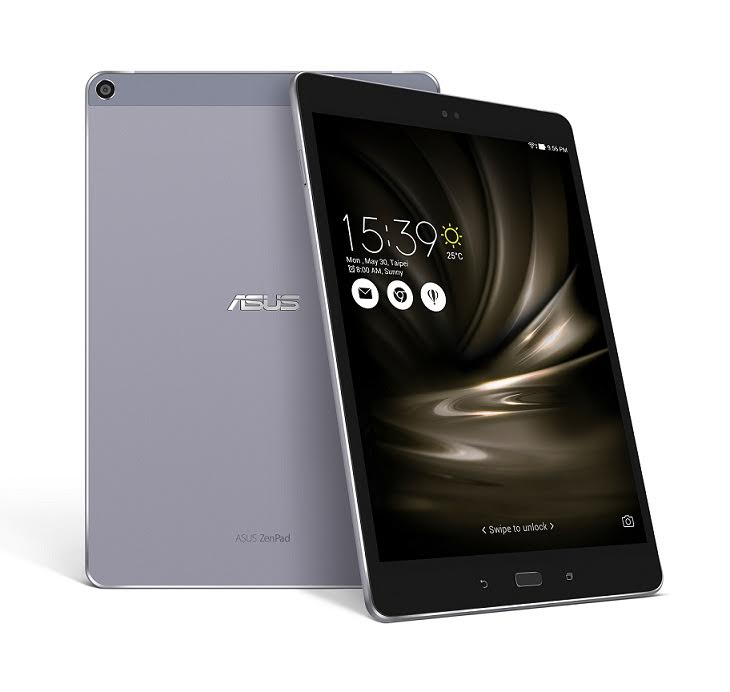 電池容量再升級,華碩推出達 7,800mAh 電量的 ZenPad 3S 10 LTE