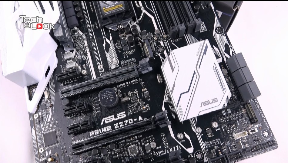 ASUS 華碩 Prime Z270-A 主機板開箱評測
