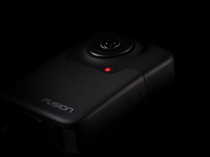 GoPro Fusion 天周相機,主打第一人稱視角並可記錄 5.2K 影像