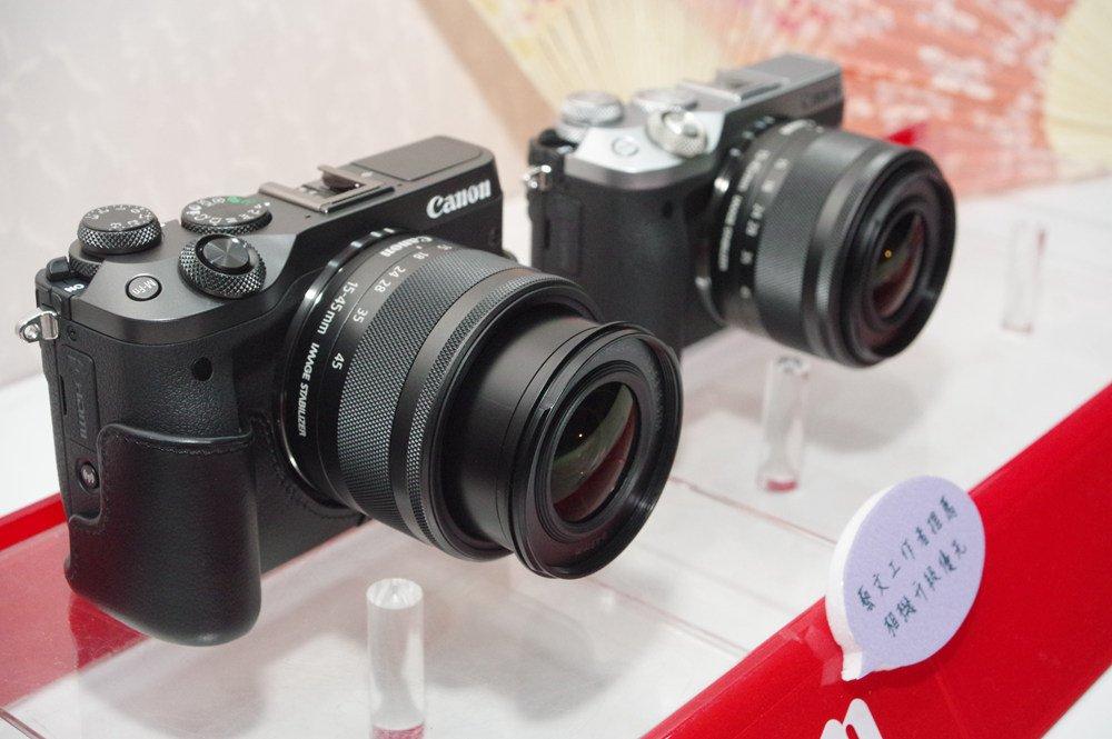 全方位專業創意微單 Canon EOS M6在台發表