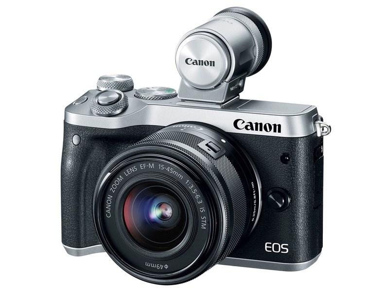 Canon新款無反機種EOS M6登台 高階機種硬體規格下放