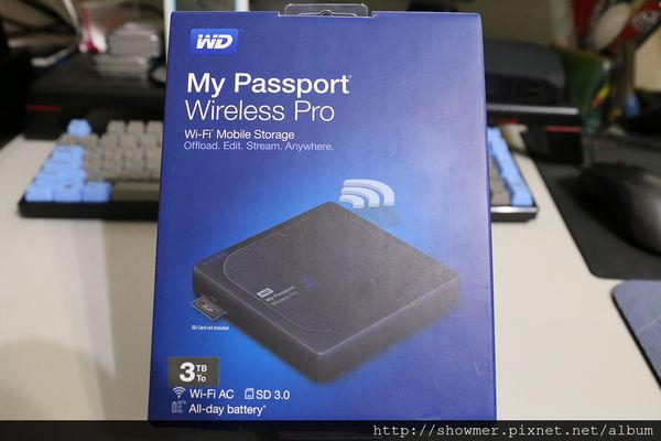 大容量無線行動硬碟 WD My Passport Wireless Pro 3TB 兼具行動電源 攝影師的資料備份好幫手