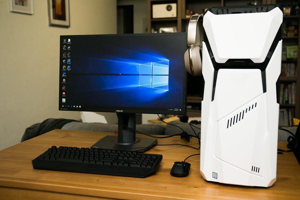 性能+擴充+獨一無二!ROG Strix GD30 電競桌機!