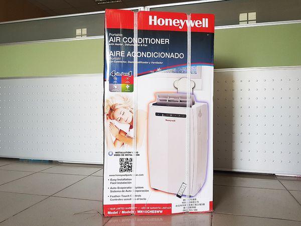 [開箱] Honeywell MN12CHESWW 小坪數、傳統空間的救星!冷氣、暖氣、除溼機和風扇 四合一移動式空調