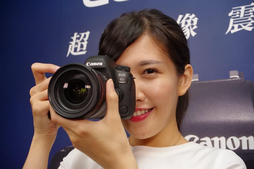 Canon 入門全幅升級,對焦速度提升、加入翻轉螢幕的 6D Mark II