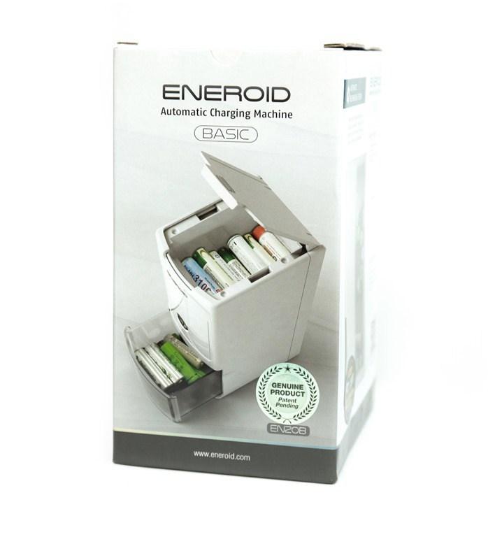 [影片+開箱] 全自動就是爽!ENEROID EN20B 三號電池自動充電塔 開箱動手玩