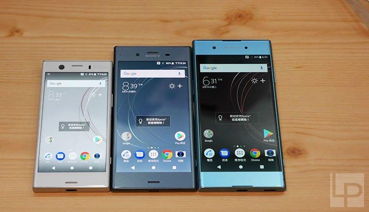 動手玩/Sony Xperia XZ1、XZ1 Compact、XA1 Plus!