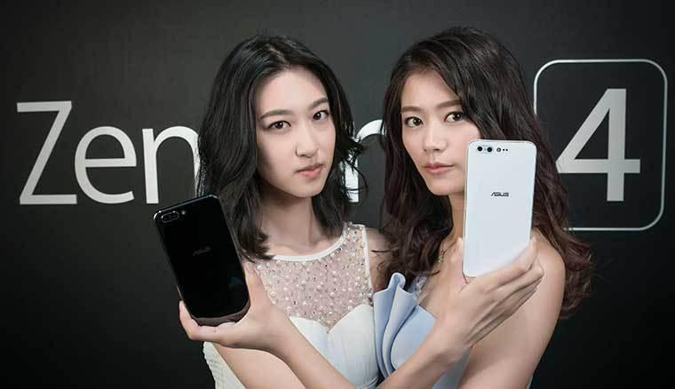 華碩旗艦ZenFone 4 Pro與大電力手機ZenFone 4 Max