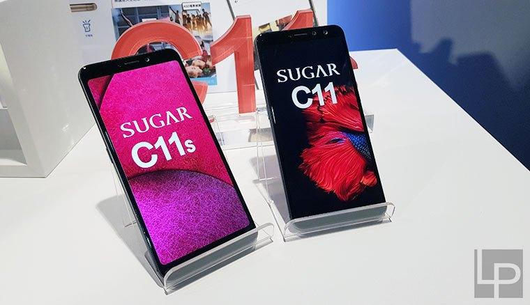 鬼鬼代言SUGAR C11與C11s全螢幕手機平價上市,主打18:9大螢幕與雙前鏡頭(簡單動手玩)