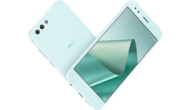 華碩ZenFone 4即日開賣「薄荷綠」新色4GB RAM版本,6GB RAM版本開放預購10月中上市