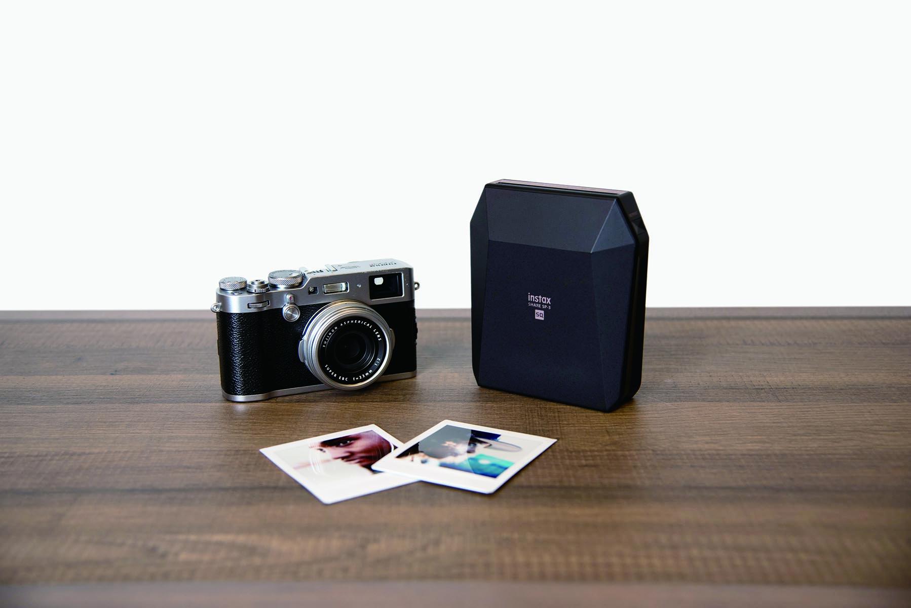 富士推出方正相紙印相機 Instax SHARE SP-3 , 13 秒就可將手機影像變成照片