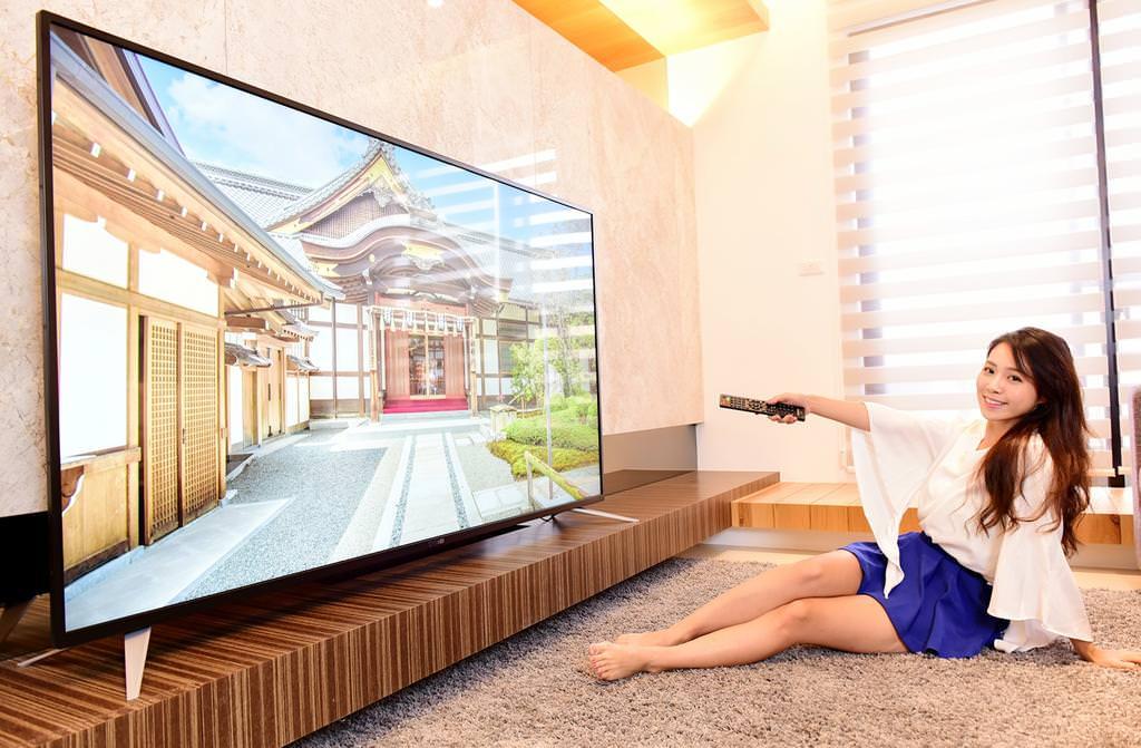 奇美 75 吋 4K 電視 TL-75U700 在家就能享受絕美大畫面