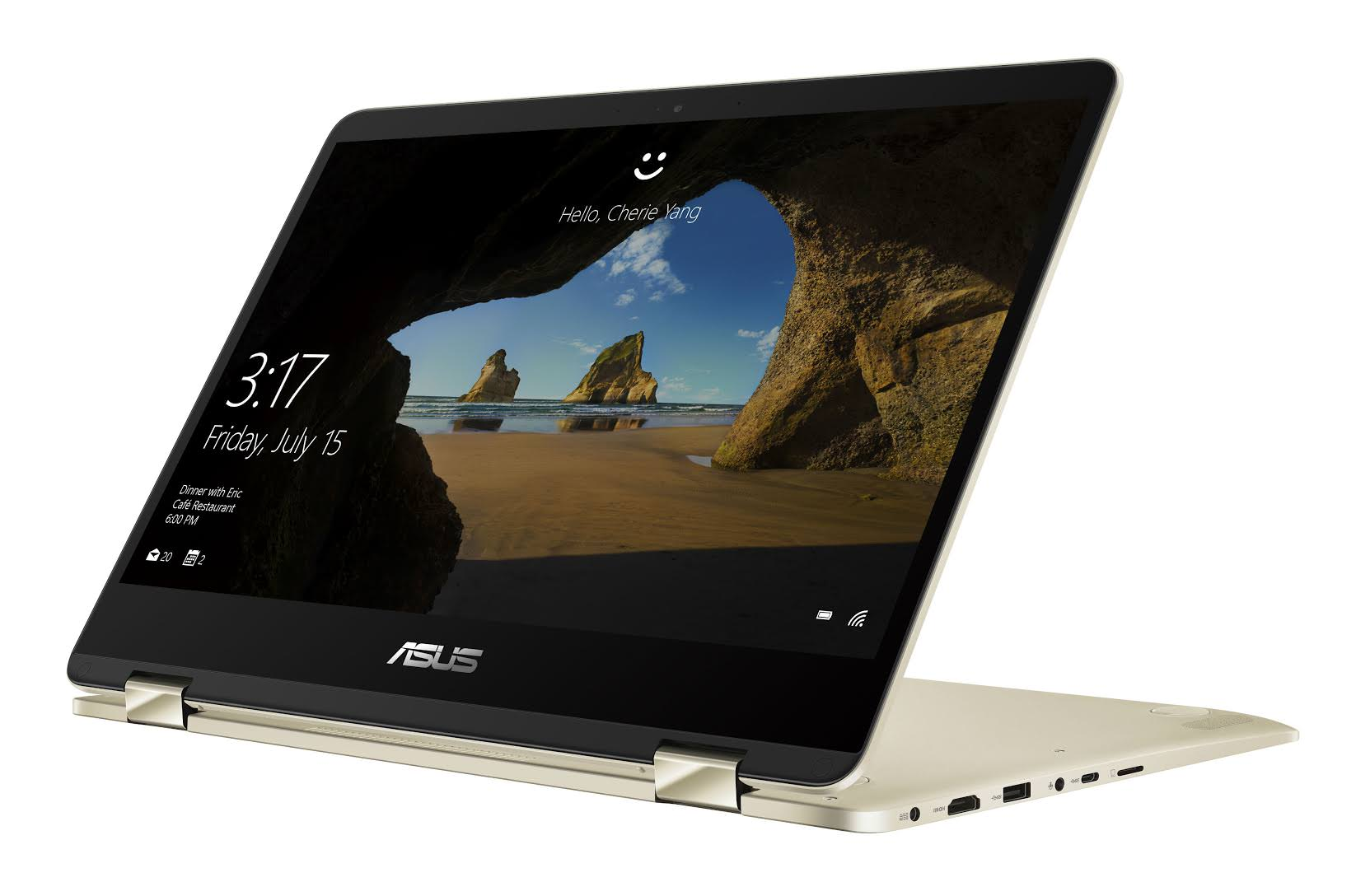 華碩窄框超薄獨顯翻轉筆電 ZenBook Flip 14 在台推出,僅 1.39 公分厚並支援 ASUS Pen