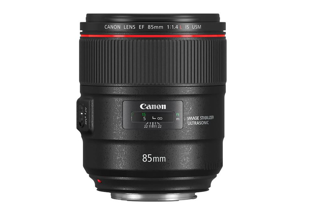 Canon EF 85mm f/1.4L IS USM 在台推出,強調大光圈、輕巧、高畫質且具備 IS 防手振