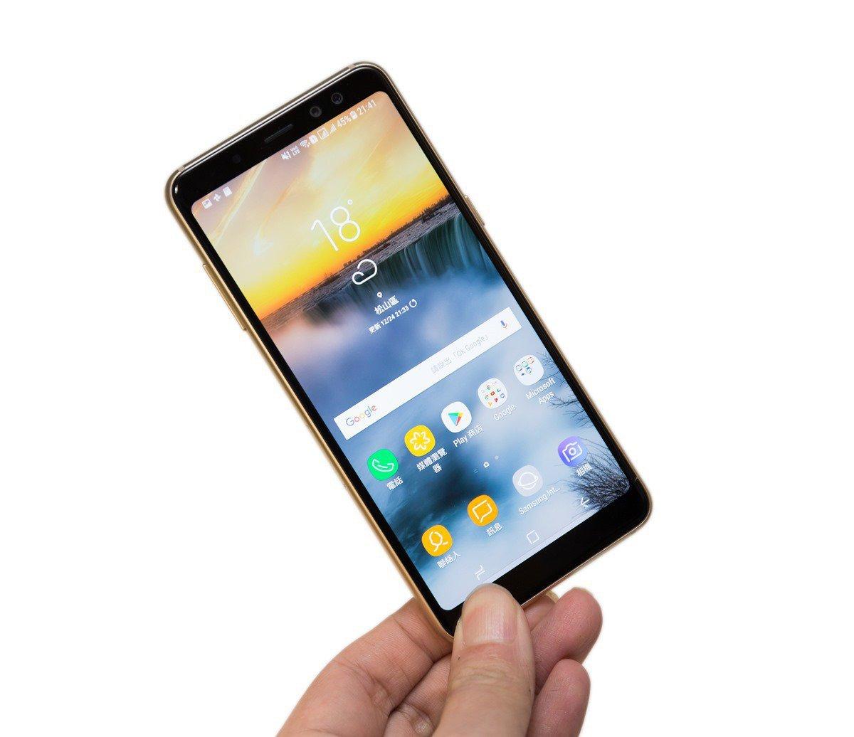 不僅旗艦機才有!Samsung Galaxy A8 (2018) 功能一次到位!全螢幕 + 防水 + 雙鏡頭美美拍