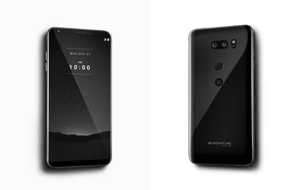 LG以頂極家電品牌Signature打造鋯陶瓷機身設計的V30+