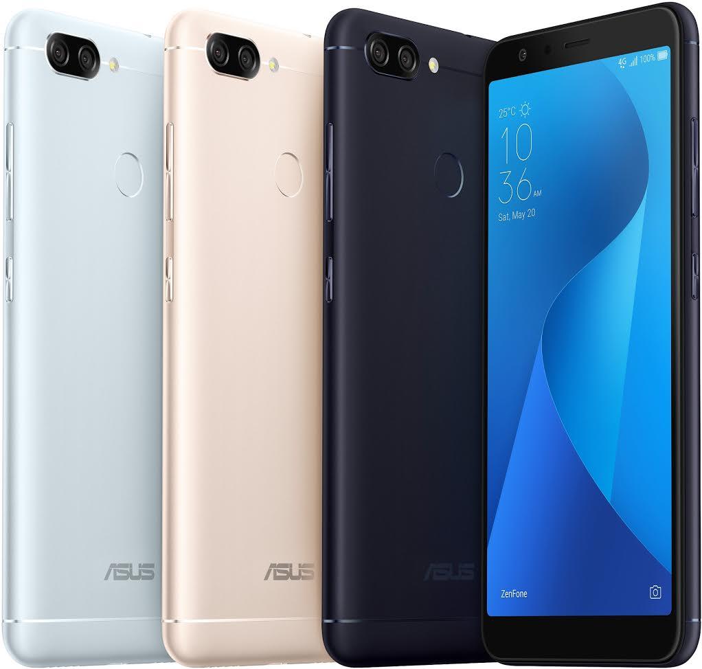 搭載 5.7 吋 全螢幕、雙相機與 4,130mAh 大電力,華碩 ZenFone Max Plus ( M1 ) 在台推出