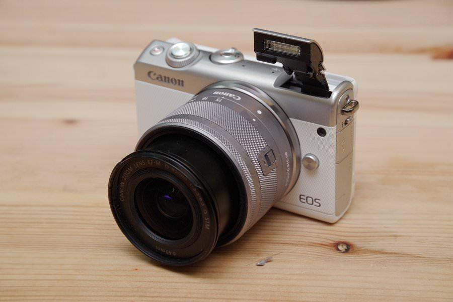 上位機能、親民設計, Canon EOS M100 動手玩