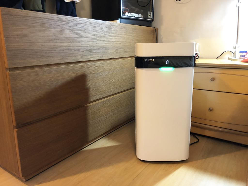 免耗材POIEMA空氣淨化器開箱 結合App遠端監控空氣品質