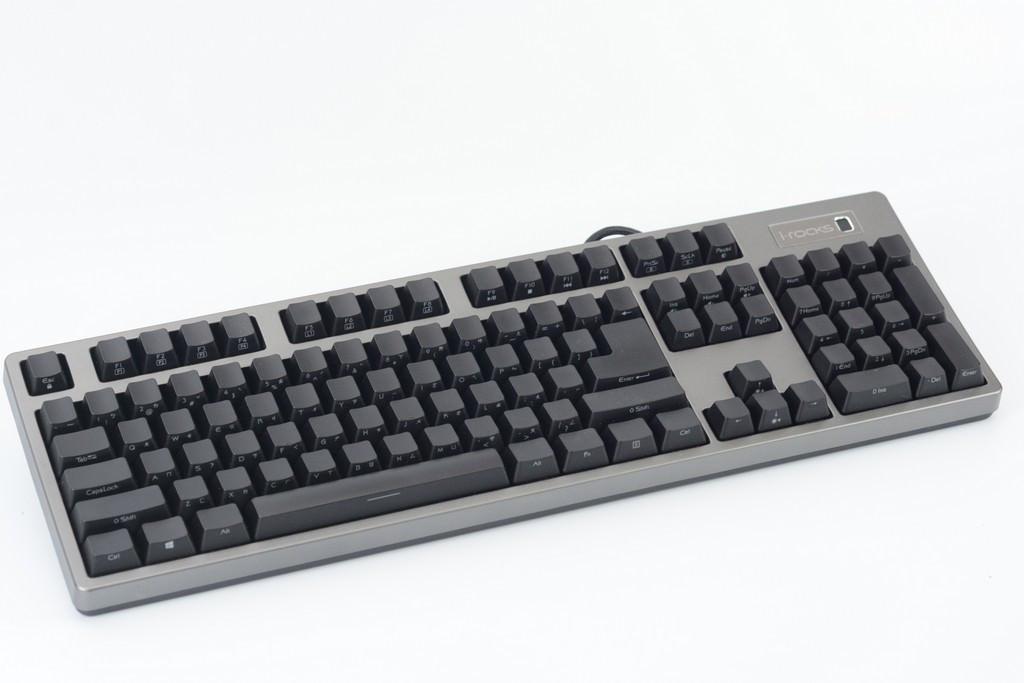 i-rocks K68M指紋辨識機械鍵盤 三大特色
