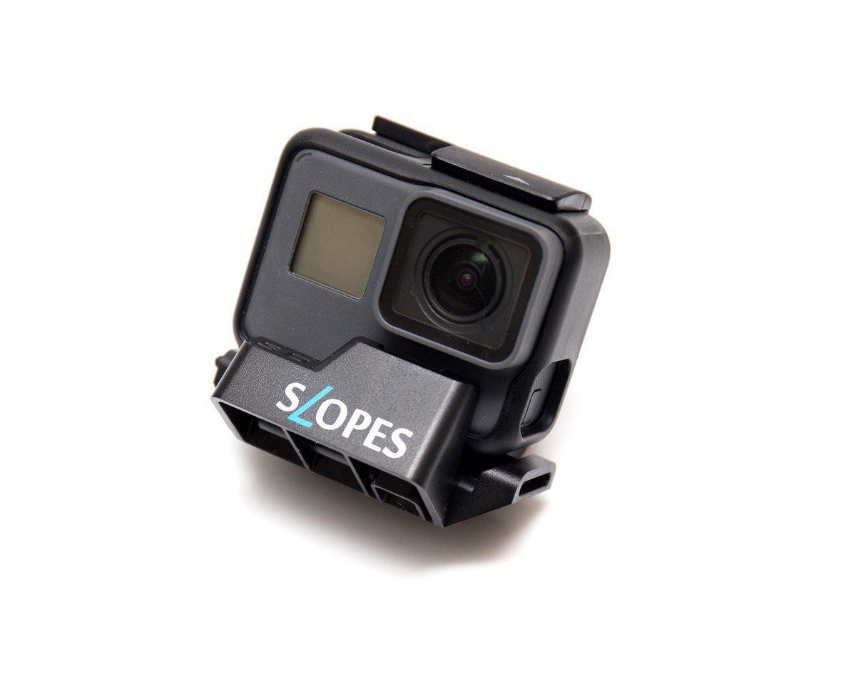 阿輝的 GoPro 6 週邊分享 (1) SLOPES 支架 / 嘴咬式固定座 / 麥克風轉接線 / 金屬框 / TELESIN 充電盒