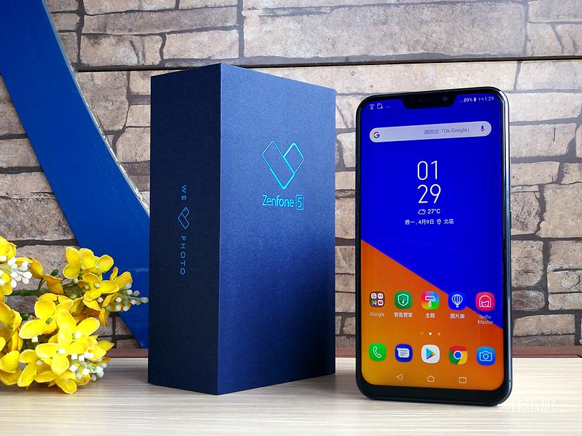 ASUS 華碩 ZenFone 5 (ZE620KL) 開箱!體驗多項 AI 功能的超高佔比 6.2 吋 19:9 全螢幕智慧型手機,讓你輕鬆按輕鬆拍。越拍越懂你