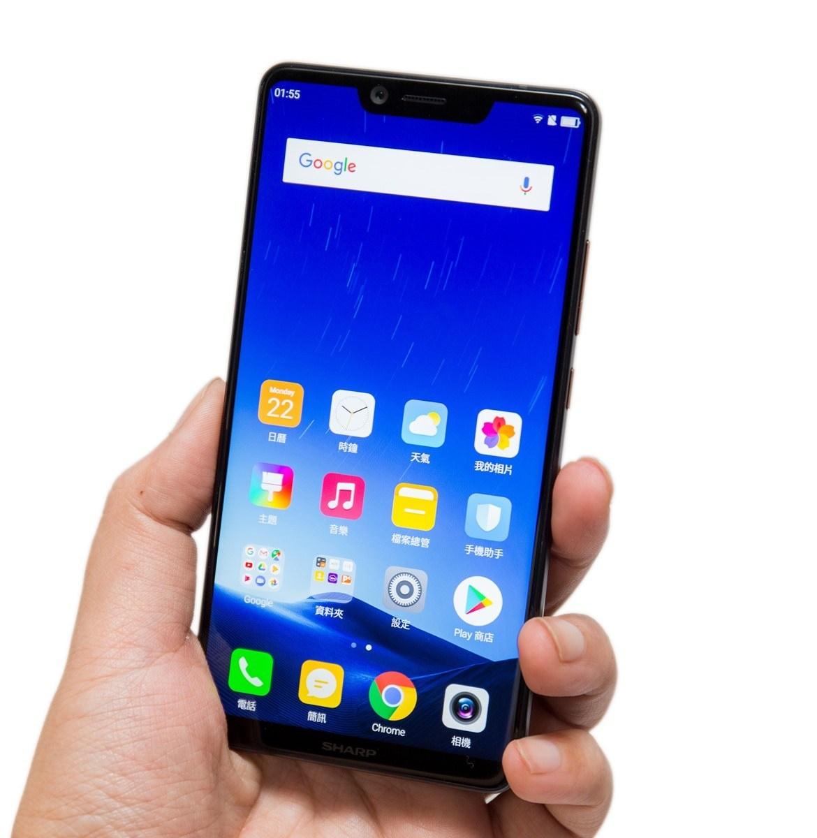 拍照更進化!SHARP AQUOS S3 全球最小六吋異形全螢幕手機