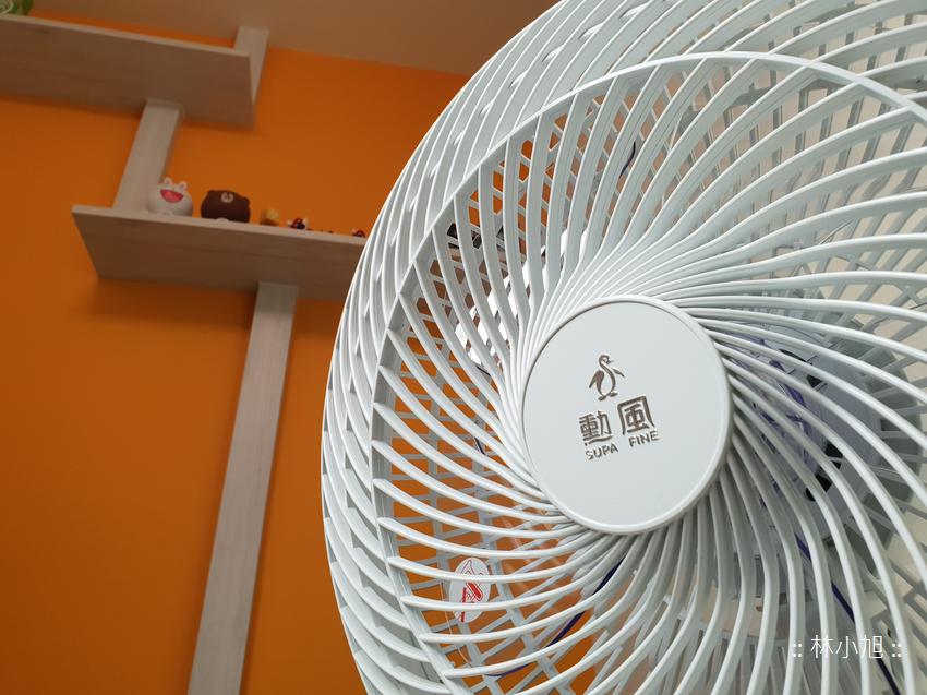 用行動電源就可以帶出門露營踏青吹吹風的電風扇!勳風 14 吋 DC 免插電節能行動立扇升級版 (HF-B49U) 開箱