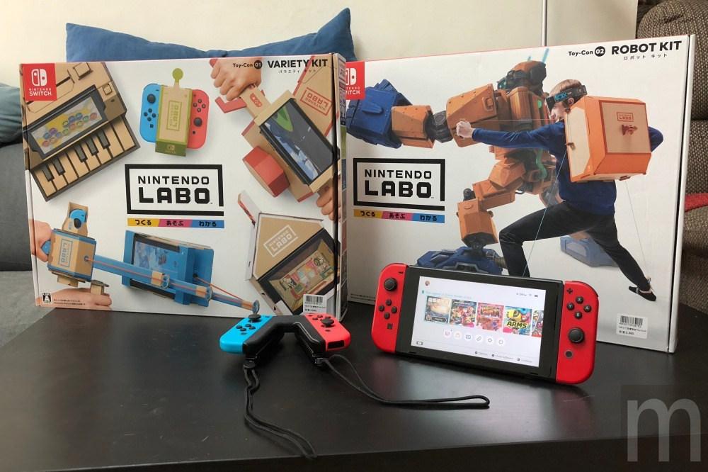 開箱/《任天堂實驗室 (LABO)》 創造Switch各類趣味玩法可能性