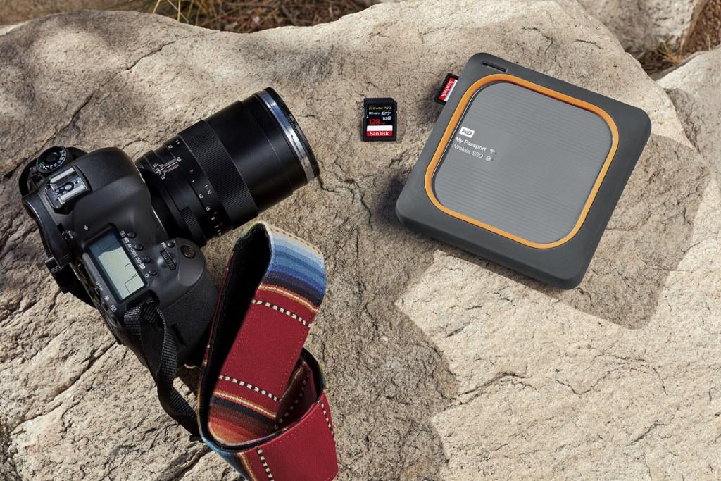 新款My Passport Wireless SSD針對戶外攝影、空拍機照片保存需求打造