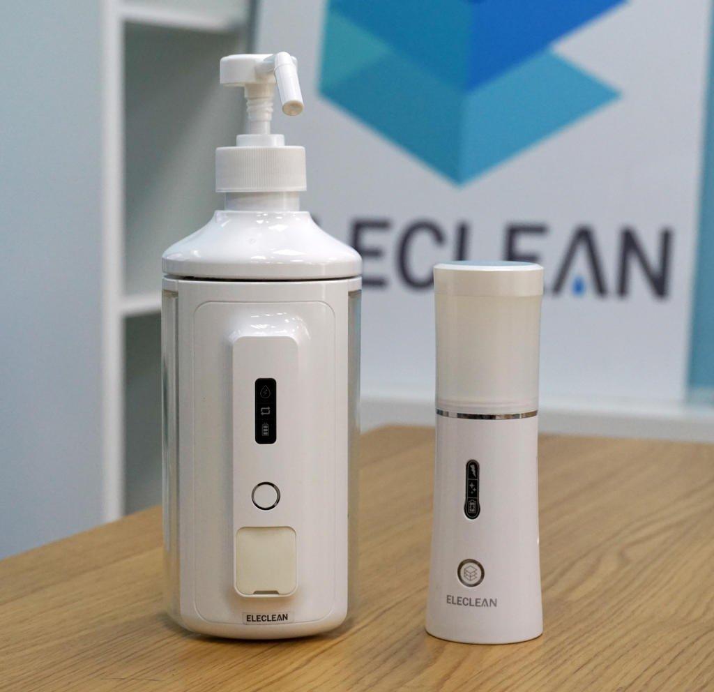 加水就能消毒?!ELECLEAN新科技捍衛你的居家安全