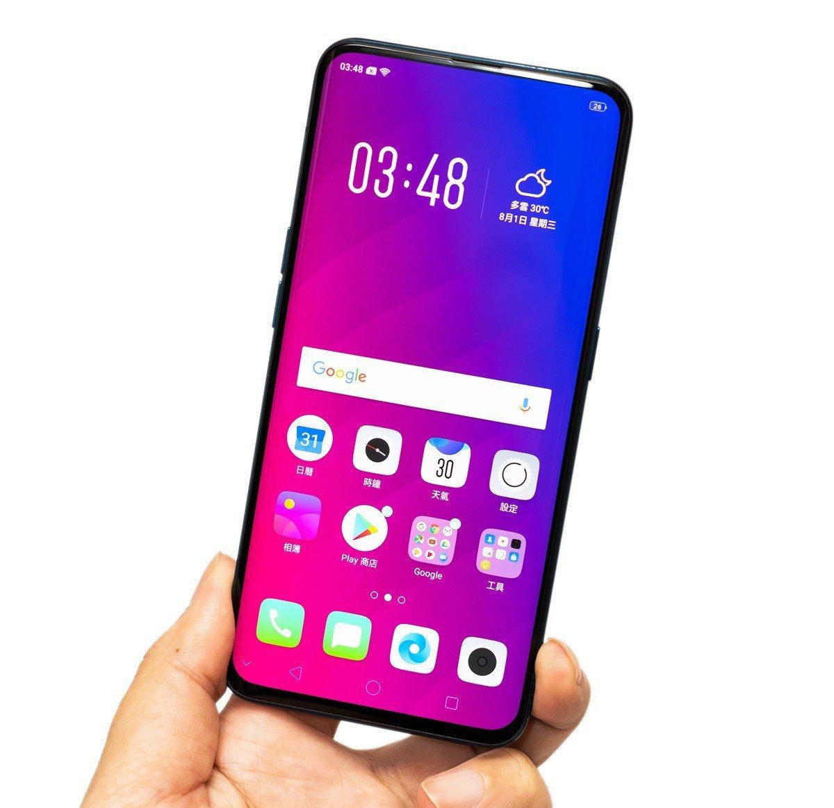【開箱】市售第一支全螢幕手機 OPPO Find X!