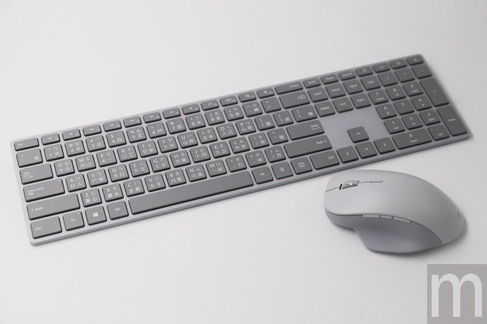 微軟新科技!耐久握的Surface精準滑鼠與指紋辨識的時尚鍵盤