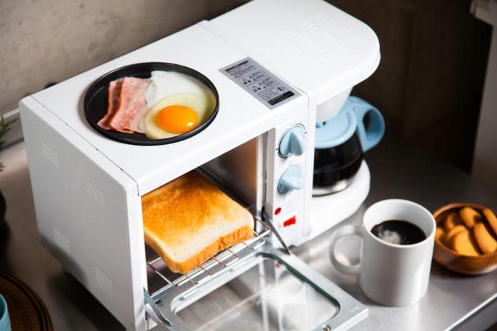 8 分鐘出全餐,懶人救星Hirokitchen 3 Way三合一早餐機