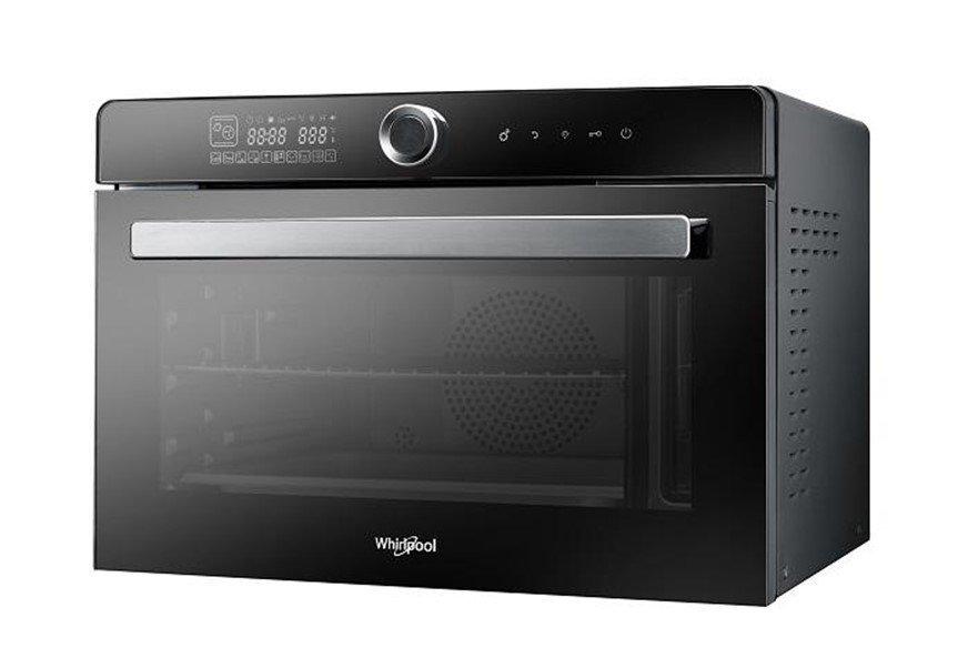【開箱】好操作!全能烹調!很好清潔!鏡面美型『惠而浦WSO3200B全能蒸烤爐』