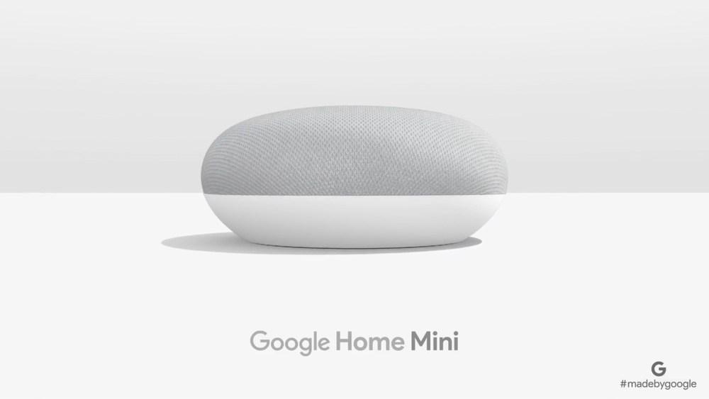 Google Home Mini揭曉 延伸Google Home智慧喇叭使用情境
