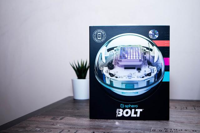【開箱】能寫程式的教育小球機器人Sphero BOLT