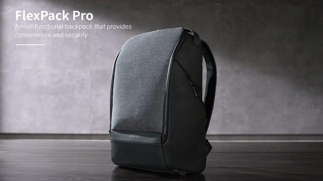 為商務而設計的背包,黑色風格Korin Design FlexPack Pro