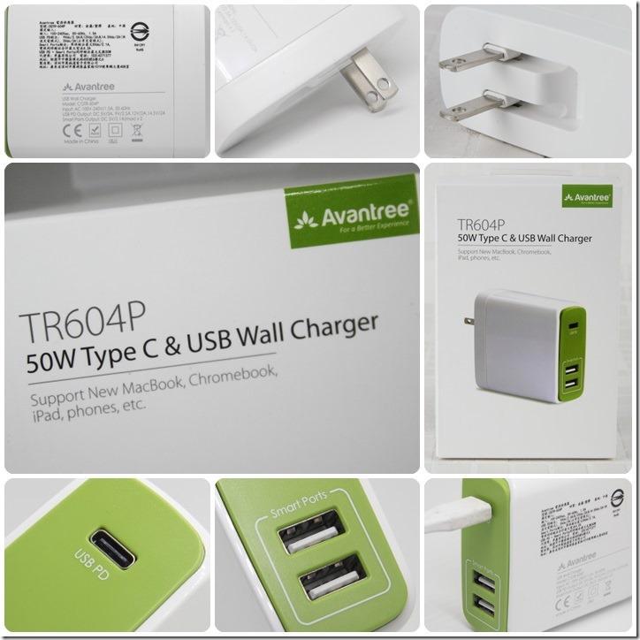 年節旅遊外出的必備良伴:Avantree TR-604P Type-C PD快充,雙USB插頭 / 充電器,一顆搞定充電大小事